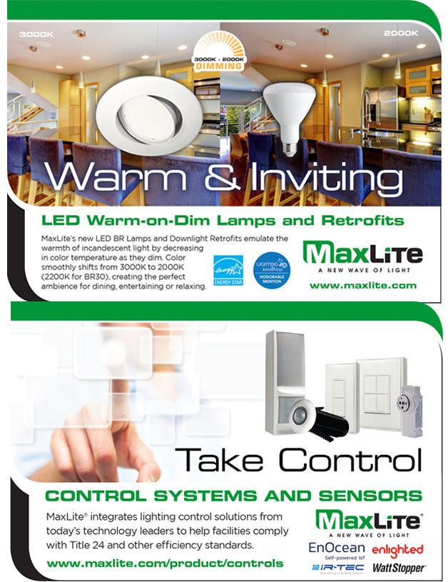 MaxLite Warm Dimming and Controls